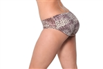 Fullness Air-flow Padded Panty Buttocks Enhancer - Wild Leopard