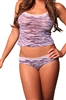 Lovely Day Lingerie Camisole Cheeky Short Set - Animal Print